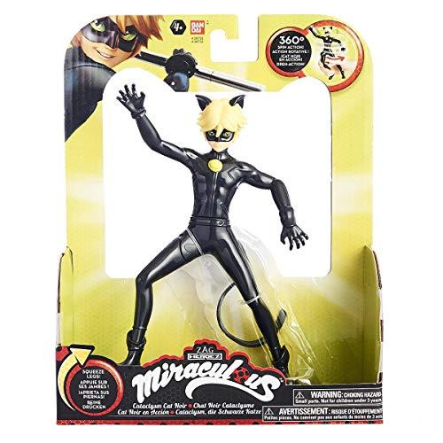 Ladybug–Statuette azione, 17cm (Bandai 39730sf), Modelli assortiti, 1 pezzo