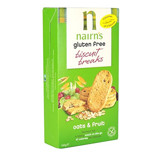 Nairn's Gluten Free Biscuit Breaks Oats & Fruit 160g