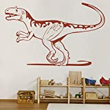Dinosaur décor Alectrosaurus World Jurassic Dinosaur Wall Sticker Dinosaur Room Decor for Boys
