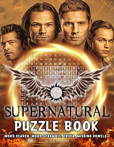 Supernatural Puzzle Book: A Must-Have Item For Relaxation And Stress Relief With Lots Of Challenging Games