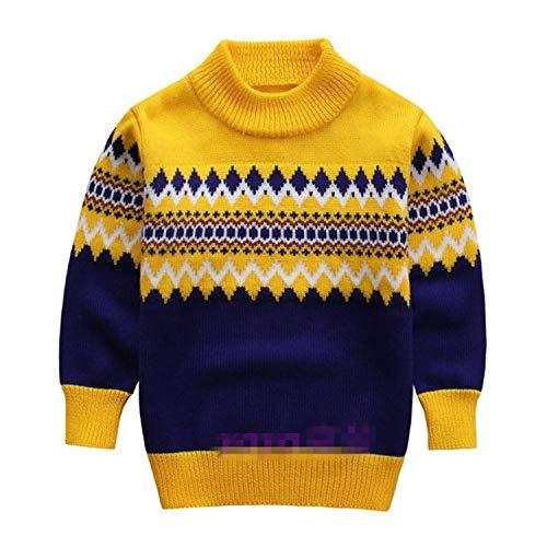 PearlMilkTea001 Gebreide trui Herfst Winter Jongen trui Kinderen Coltrui Kerst Truien Jongen Pullover