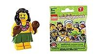 レゴ (LEGO) ミニフィギュア シリーズ3 フラダンサー (Minifigure Series3) 8803-14