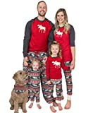 Lazy One Christmas Pajama Set, Matching Family Pajamas for Adults, Kids, and Infants