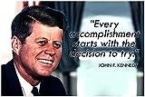 JFK Klassenzimmer Zitat Poster Dekorationen