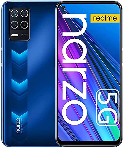 realme Narzo 30 5G Smartphone, Móvil 4GB + 128GB, Dimensity 700 5G Teléfono Móvil 6.5