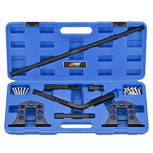 EWK 7 Pcs Overhead Valve Spring Compressor Tool Valve Spring Remover & Installer Kit