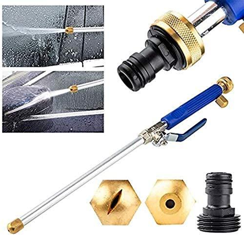 Adaptador de chorro de agua de alta presión Power Washer Cr Power Glass Cleaner Jet Clean Spray boquilla manguera de agua para jardín coche riego rociador