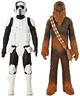Star Wars Chewbacca and Scout Trooper Classic 20-inch Wave 1 Action Figures Set of 2