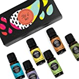 Edens Garden Top 6 Set, Best 100% Pure Essential Oil Aromatherapy Starter Kit (For Diffuser &...