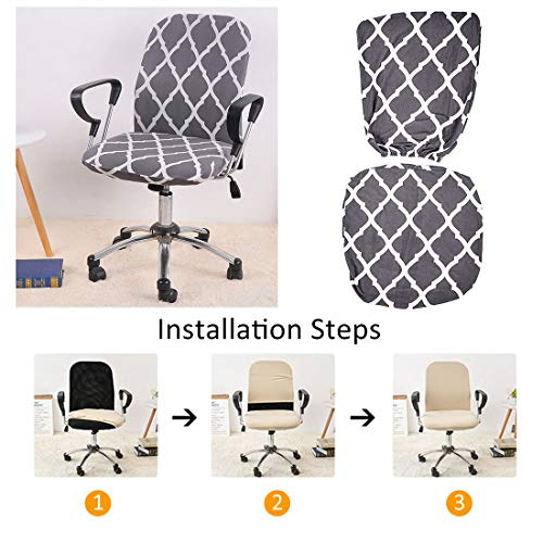 YUER Office Chair Cover Armchair Slipcover