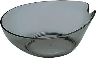 シンカテック ヒューバス 湯おけ クリアブラック 427543 本体サイズ:約幅24×奥行26.5×高さ10.5cm