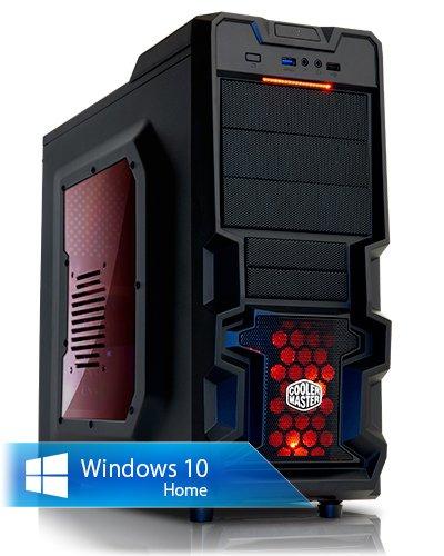 Ankermann-PC Superclocked, Intel Core i7-4790K 4x 4.00GHz, MSI GTX 970 Gaming 4GB, 8 GB DDR3 RAM, 2000 GB disco duro, DVD-RW Writer, Windows 7 Professional 64 Bit, Card...