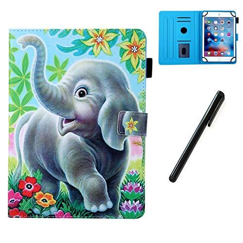 HereMore Hülle für 8 Zoll Tablet mit Stift, Smart Hülle Ständer Cover Tasche Schutzhülle für Lenovo Tab3 8/Tab 4 8