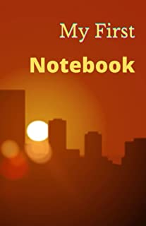 My First Notebook: 5.5*8.5 Inch 300 PAGES