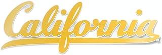 ملصق ممتص الصدمات للسيارة بشعار California Berkeley Script California