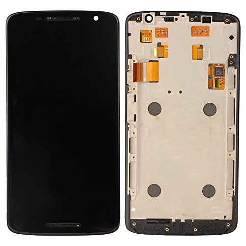 Motorola Moto X Play XT1562 XT1563 LCD Display Touchscreen Digitizer Glas Assembly Rahmen Ersatzteile + Werkzeuge (schwarz)