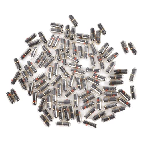 Clasken Píldoras de Letras, cápsula Liviana con diseño de cápsula de Letras con Papel Negro en Blanco para decoración de Bricolaje para Regalos de Bodas