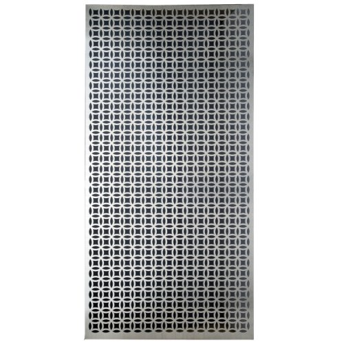 M-D Building Products 57322 Decorative Elliptical Aluminum Sheet