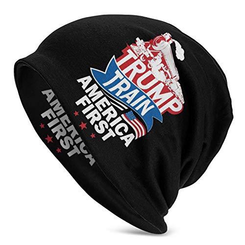 JONINOT Prestaties Van Trump all Seasons Sports Slouchy Beanie Oversize Slouch Knit Hat Skull cap Uomo Donna