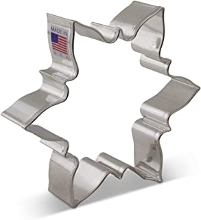 Ann Clark Cookie Cutters Icy Snowflake Cookie Cutter, 4.5