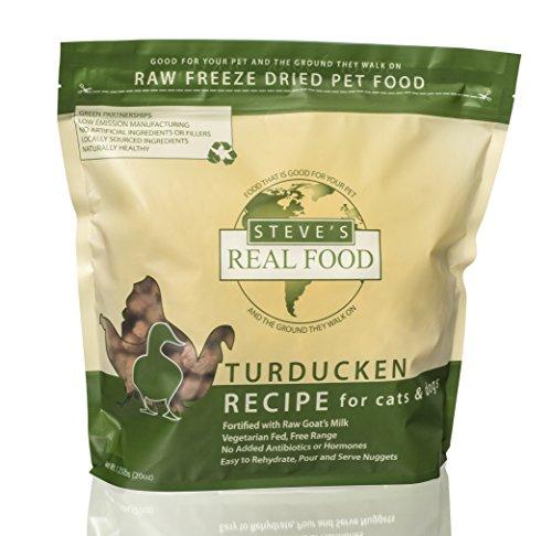 Steve s Real Food Freeze-Dried Raw Nuggets 1.25# (Turducken)