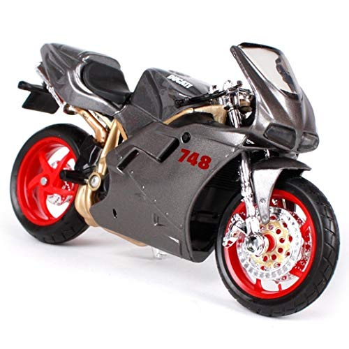 JBlaite Motorrad Fahrrad Modell/Proportion 1/18 Druckguss Simulation Legierung Modell Auto/Erwachsene Kinder Mädchen Geburtstag Urlaub Weihnachten Spielzeug Sammlung Display Geschenke