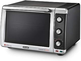 comprar comparacion De'Longhi EO32752 Horno de sobremesa, 2200 W, 32 L, grill, convección, acero inoxidable, plástico, negro