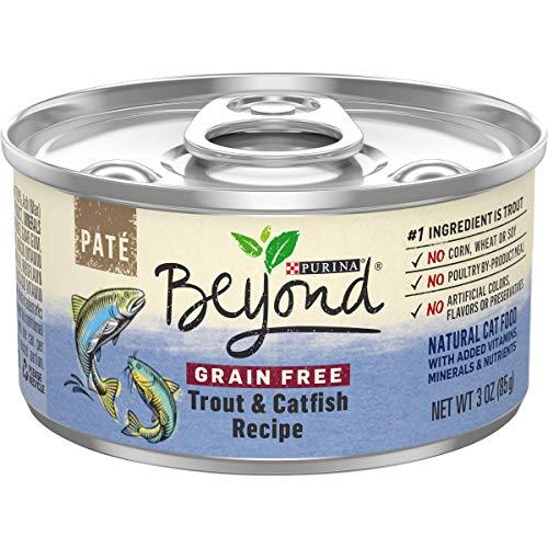 Purina Beyond Grain Free, Natural Pate Wet Cat...
