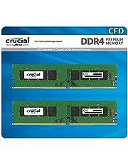 CFD販売 デスクトップPC用メモリ DDR4-3200 (PC4-25600) 16GB×2枚 288pin (無期限保証)(相性保証)(Crucial by Micron) W4U3200CM-16GR