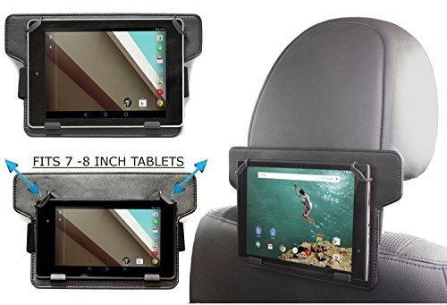 Navitech Kopfstützen Halterung für das Yuntab 7 inch Touch Tablet Allwinner A33 HD 1024 X 600 Tablet