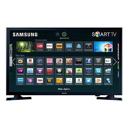 """TV LED 32"""", Samsung, UN32J4300AGXZD, Preto"""