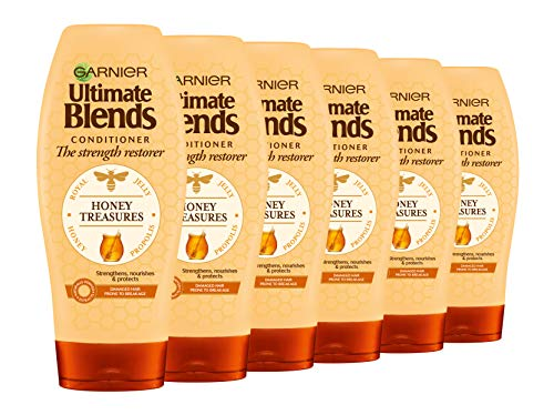 Garnier Ultimate Blends Honey Strengthening Shampoo 2 | conditioner 360ml Garnier Ultimate Blends Honey Strengthening Conditioner 360 ml, 6 stuks