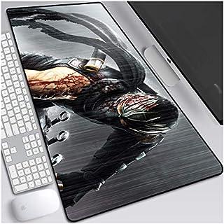 ITBT Dark Souls Anime Alfombrillas de Ratón - Gaming Mousepad 700x300mm, 3mm Base de Goma Antideslizante, Superfície con Textura Especial, Compatible con ratón láser y óptico, para PC y Laptop,B