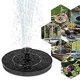 Coquimbo Solar Springbrunnen, Solar Teichpumpe Garten Wasserpumpe Solarpumpe mit 1W Monokristalline...