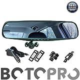 BOTOPRO - HD Mirror CAM, el Retrovisor con Cámara HD para el Coche. Pantalla LCD 2,5', Graba Vídeo y Hace Fotografías en Alta Definición, Sensor de Movimiento, Gira 350º - Anunciado en TV