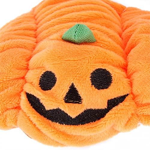 POLPqeD Calabaza de Mascota Perro&Gatos Collares/Sombrero - Halloween Cosplay - Sombrero de Bat Wings-Ropa de Halloween.Ajustables de Halloween para Gatos&Perro, Accesorios para Disfraz para Mascotas