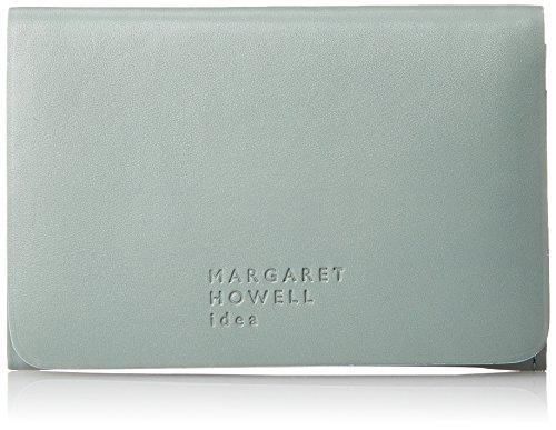 [マーガレット・ハウエル アイデア] 名刺入れ 【ベンジャミン】牛革 ノンステッチ MHLW8JM1(専用BOX入り) レディース ブルー