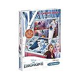 Clementoni 59141 E-Lektor Quiz Basic Disney - Frozen 2 (Regina di ghiaccio), gioco interattivo per bambini dai 3 ai 6 anni, adatto per l'asilo, regalo di Pasqua