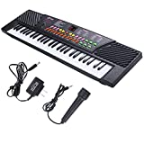Chonlakrit New 54 Keys Music Electronic Keyboard Kid Electric Piano Organ W/Mic & Adapter