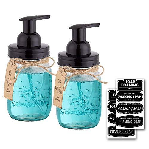 mason jar foaming soap dispenser - 7
