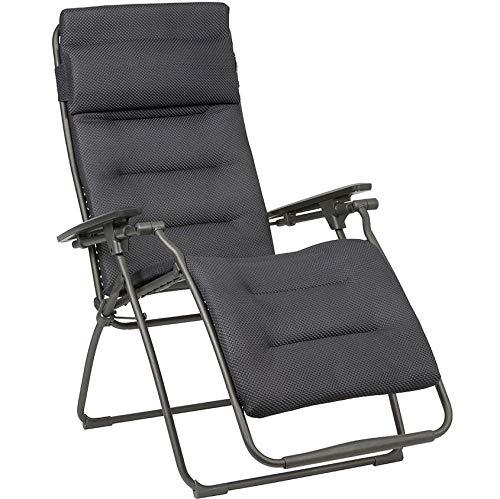 Lafuma Futura XL Be Comfort® Relaxliege Dark Grey Titane Sonnenliege LFM3131.8902