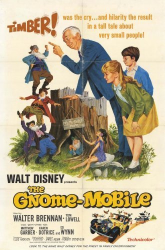 The Gnome Mobile 11 x 17 Movie Poster - Style A by postersdepeliculas