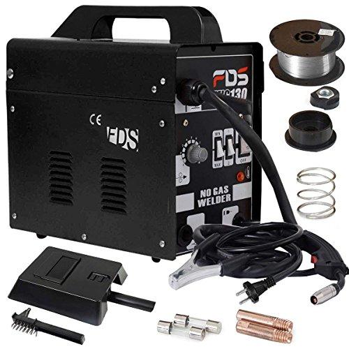COSTWAY Poste à Souder Mig Inverter Kit De Soudage Machine à Souder (Noir)