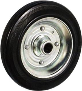 Caoutchouc fondu roue Ø 200x50 mm axe de la roue Ø 20 mm Capacité 230 kg