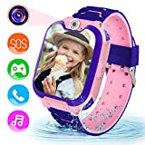 Children Game Smart Watch Mobile Phone, Smart Watch with 1GB SD Card Game Time Music Player Camera...