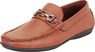 Cambridge Select Men's Horsebit Slip-On Driving Moccasin Loafer