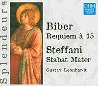 Dhm Splendeurs: Biber: Requiem a 15 S by Gustav Leonhardt