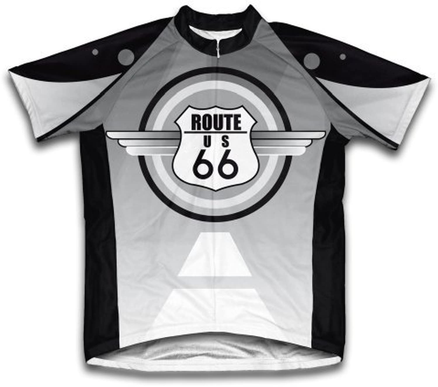 Route 66 Short Sleeve Cycling Jersey for Women All Sizes Available  Size L by ScudoPro