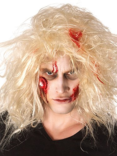 COOLMP – Juego de 6 – Kit de Maquillaje Zombie para Adulto, Talla única, Maquillaje de Fiesta, Pelo, Piel, Labios, Ojos, Carnaval, Fiesta de Disfraces, cumpleaños,