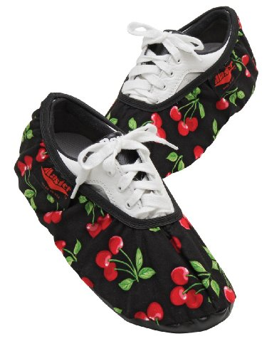 Master Industries Women 's Bowling Shoe Cover, Cherries, Small/Medium